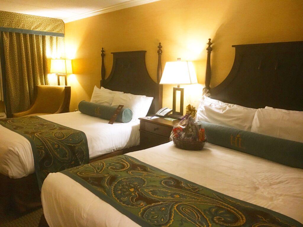 Hershey Lodge Room