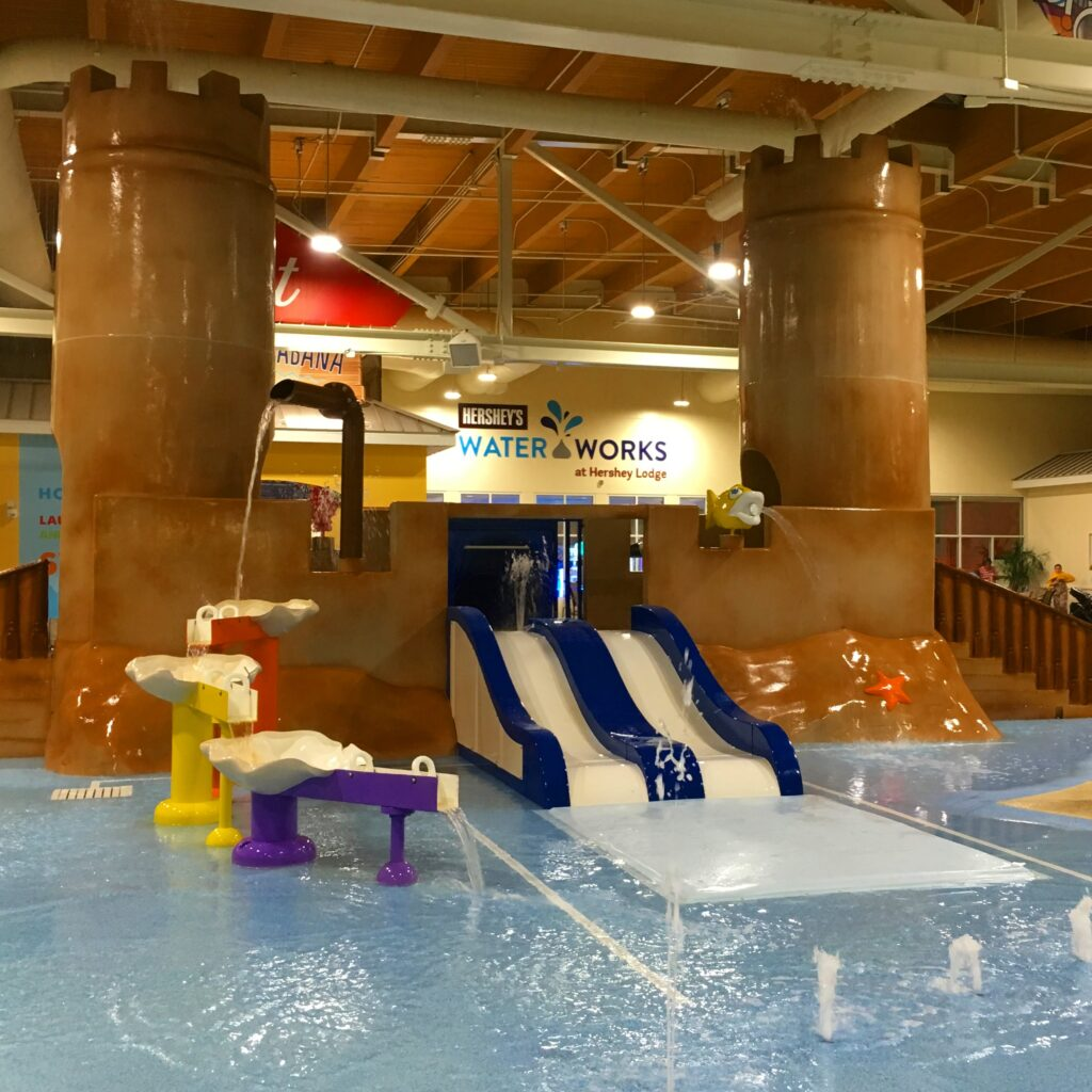 Hershey Lodge Water Slides