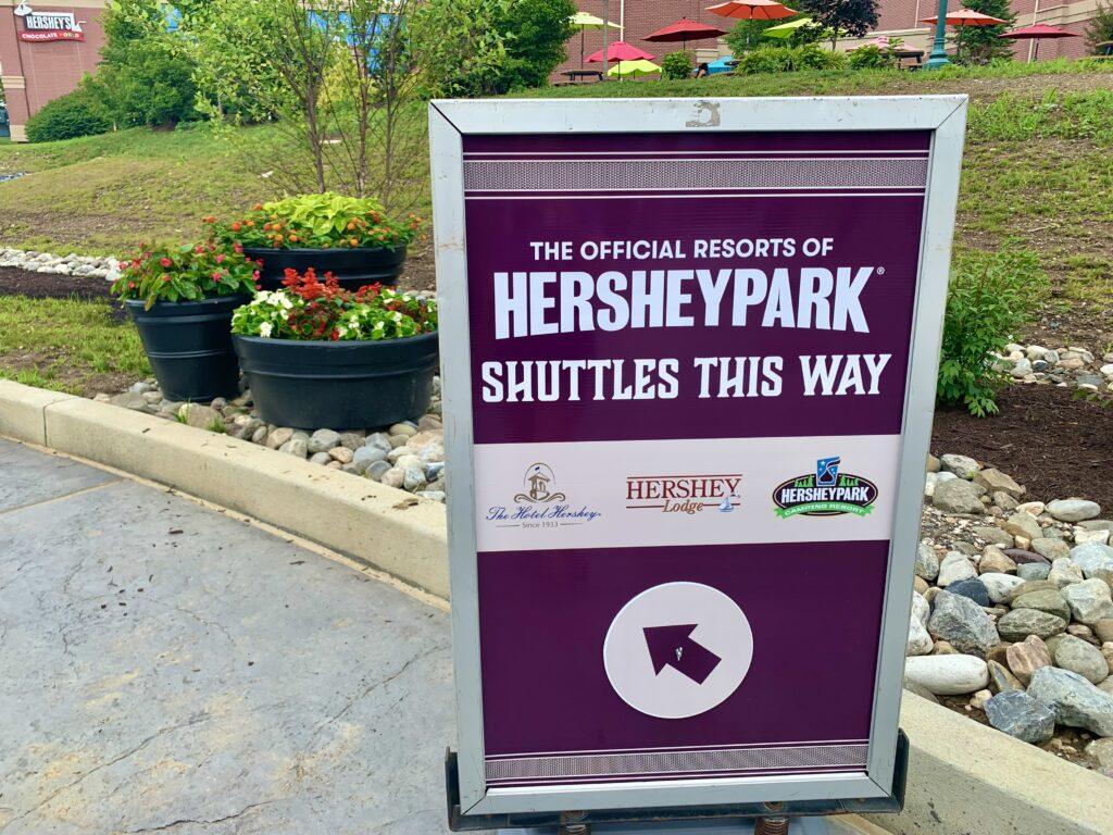 Hersheypark Shuttle Stop