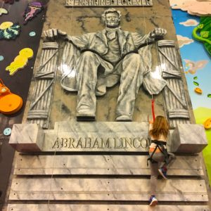 ClimbZone - Lincoln Memorial Wall