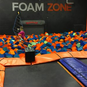 Foam Zone at Sky Zone Timonium