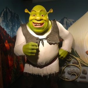 Wax Museum - Shrek