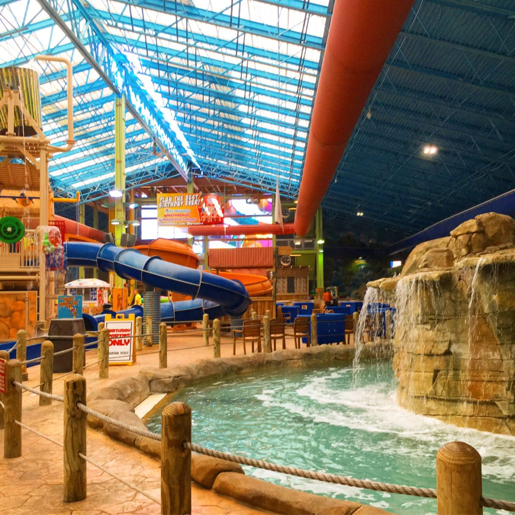 Lazy River at Sahara Sams Indoor water park