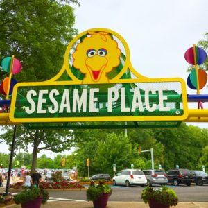 Sesame Place Sign