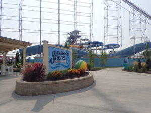Cedar Point Shores Sign