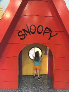 Snoopy at Cedar Point