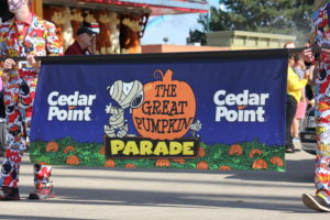 Cedar Point Great Pumpkin Parade