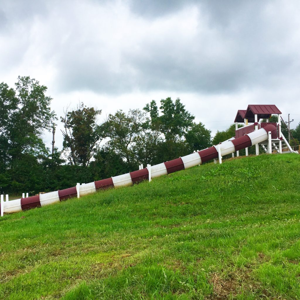 Hellerick's Family Farm Slide
