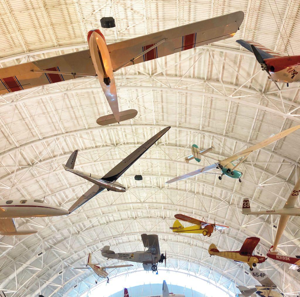 Udvar-Hazy Center Airplanes