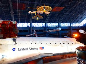 Udvar-Hazy Center Discovery Space Shuttle