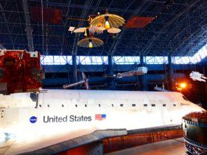 Udvar-Hazy Center Discovery Space Shuttle