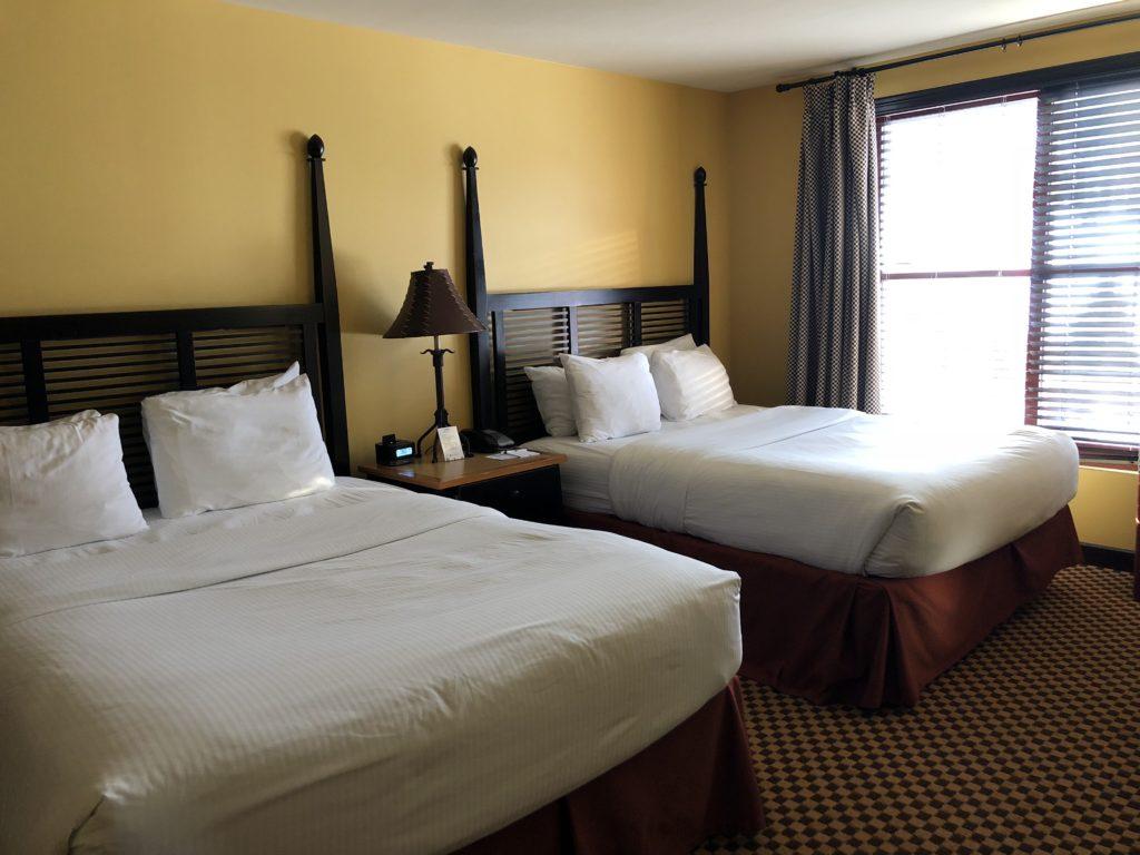 Queen Suite Bedroom at Bear Creek