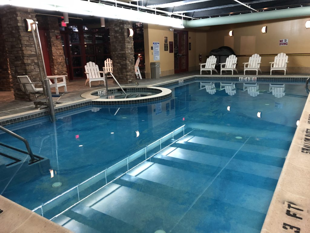 Indoor Pool at Bear Creek
