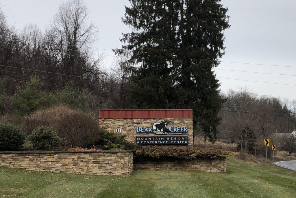 Bear Creek Resort Entrance