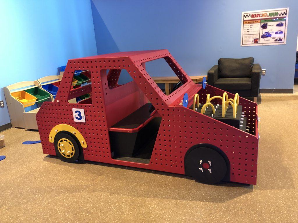 Car exhibit at Da Vinci Science Center