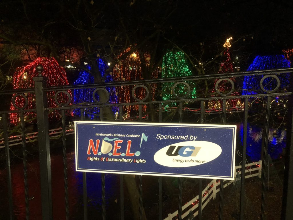 View of the bridge of N.O.E.L. at Hersheypark