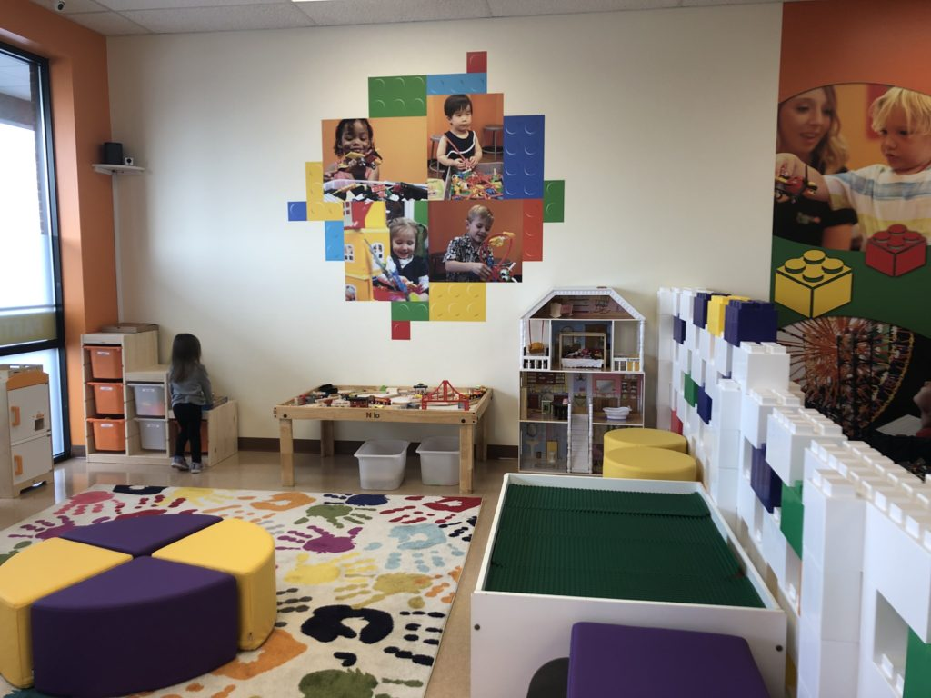 Preschool Play Space at Snapology Discover Center Lancaster