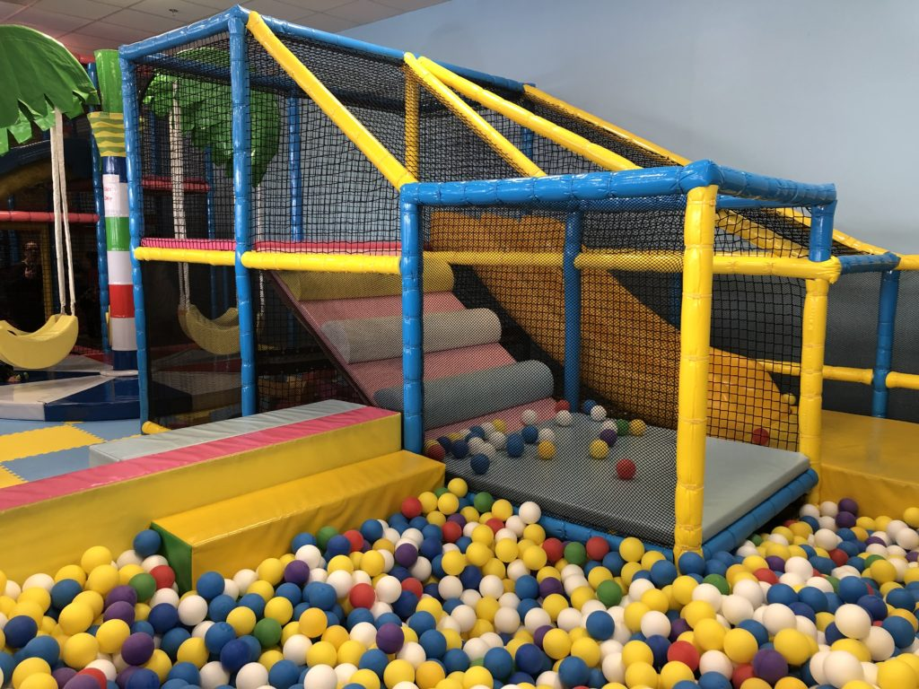 Ball pit at Totsville