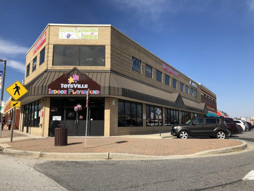 Totsville in Glen Burnie, Maryland