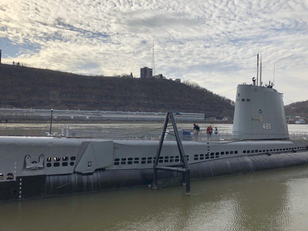 USS Requin Submarine Carnegie Science Center