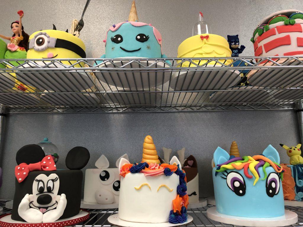 Jubilee Cake Studio sample cakes