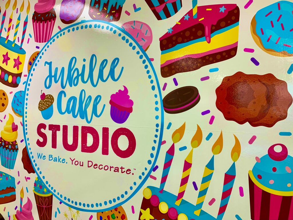 Jubilee Cake Studio Sign