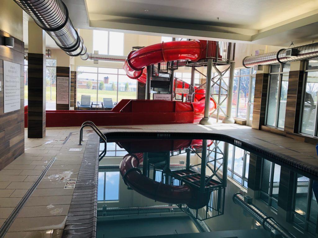 Fairfield Inn Water Slide