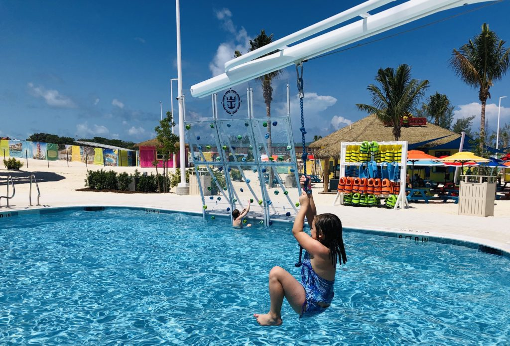 CocoCay Swing Rope