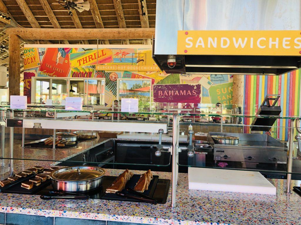 Sandwiches at Skipper's Grill