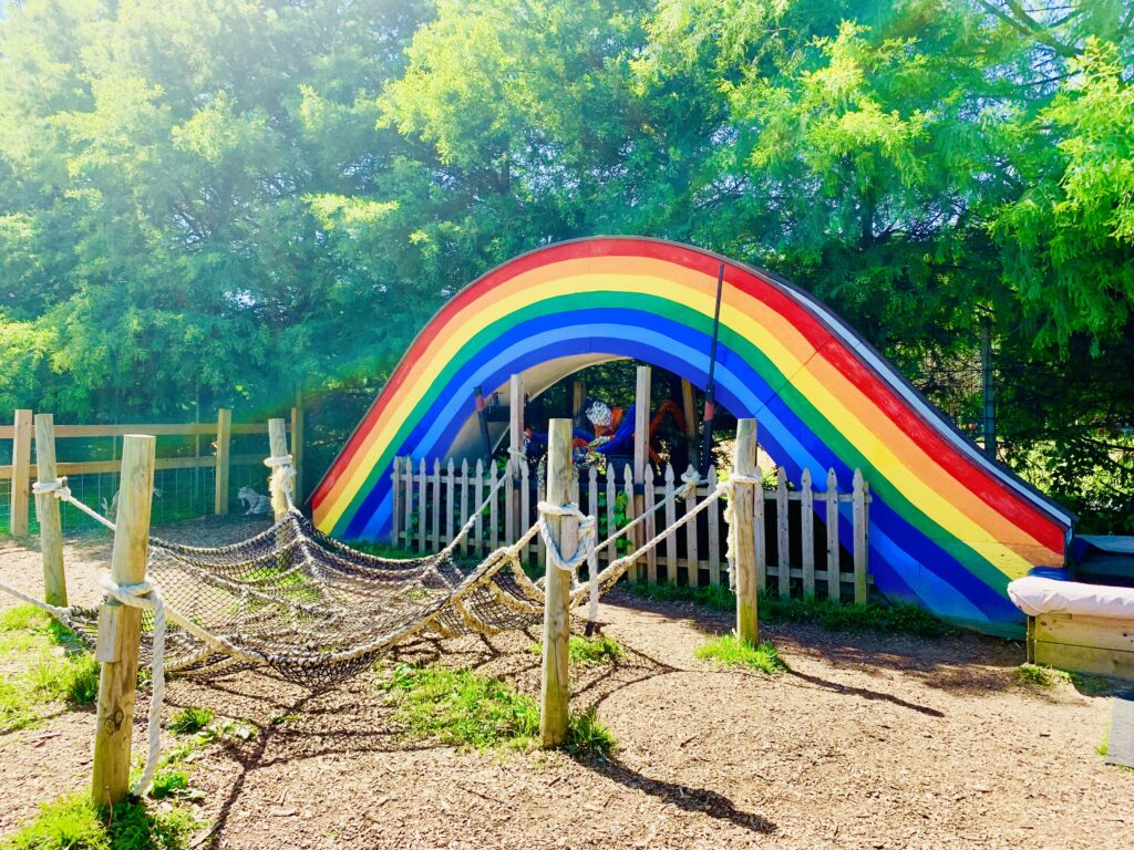 Clark Elioak Farm Rainbow slide