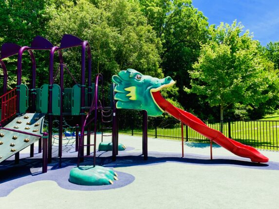 South Bowie Community Center Dragon Slide