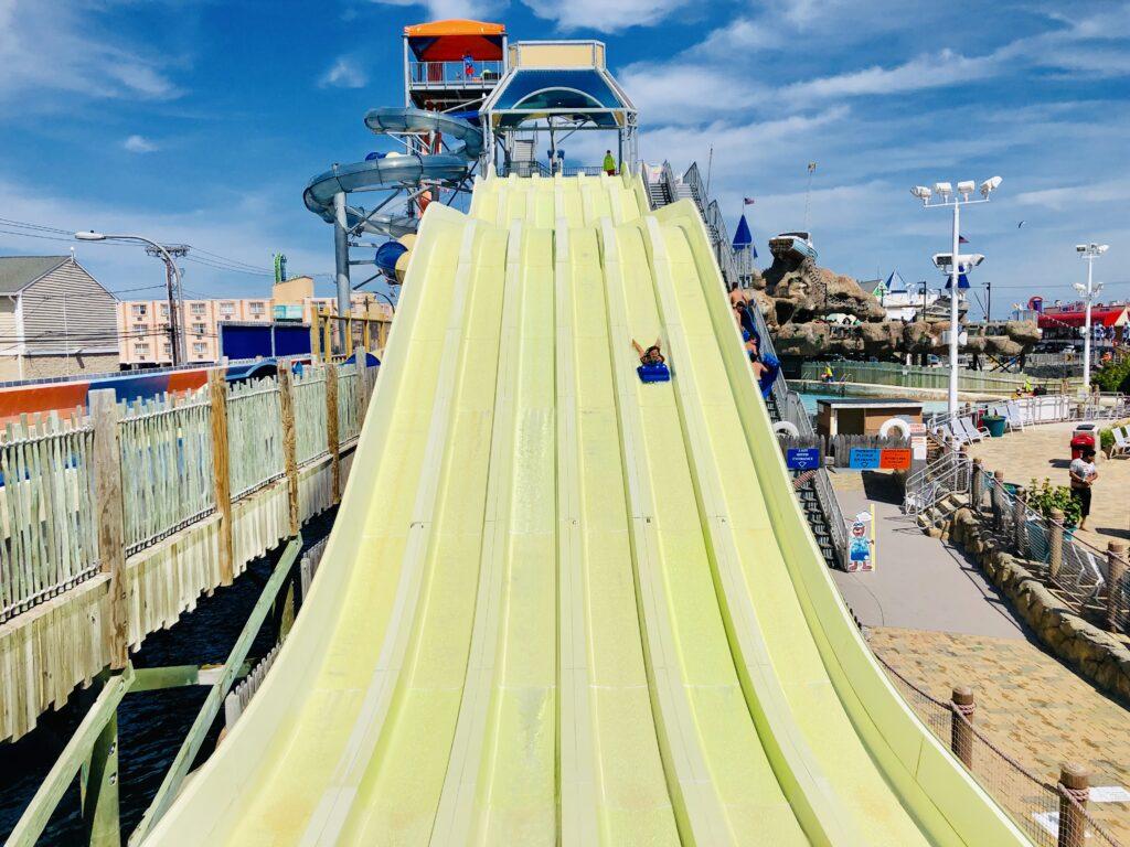 Breakwater Beach slides