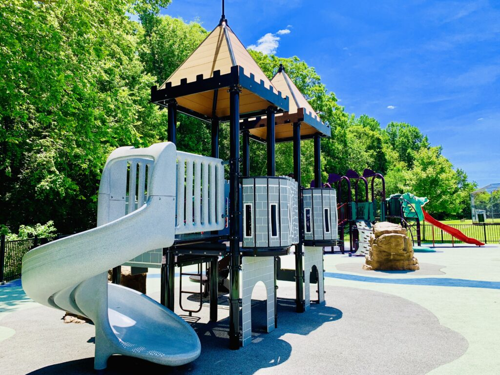 South Bowie Community Center Playground Castle