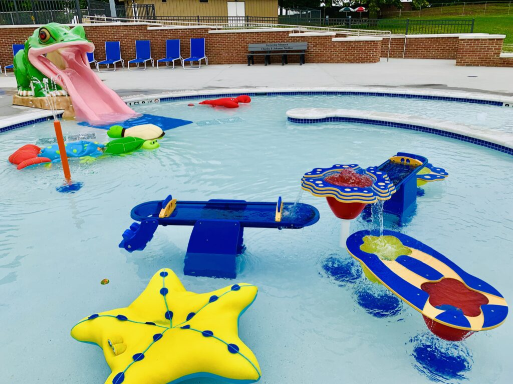 Chambersburg Aquatic Center Kiddie Pool