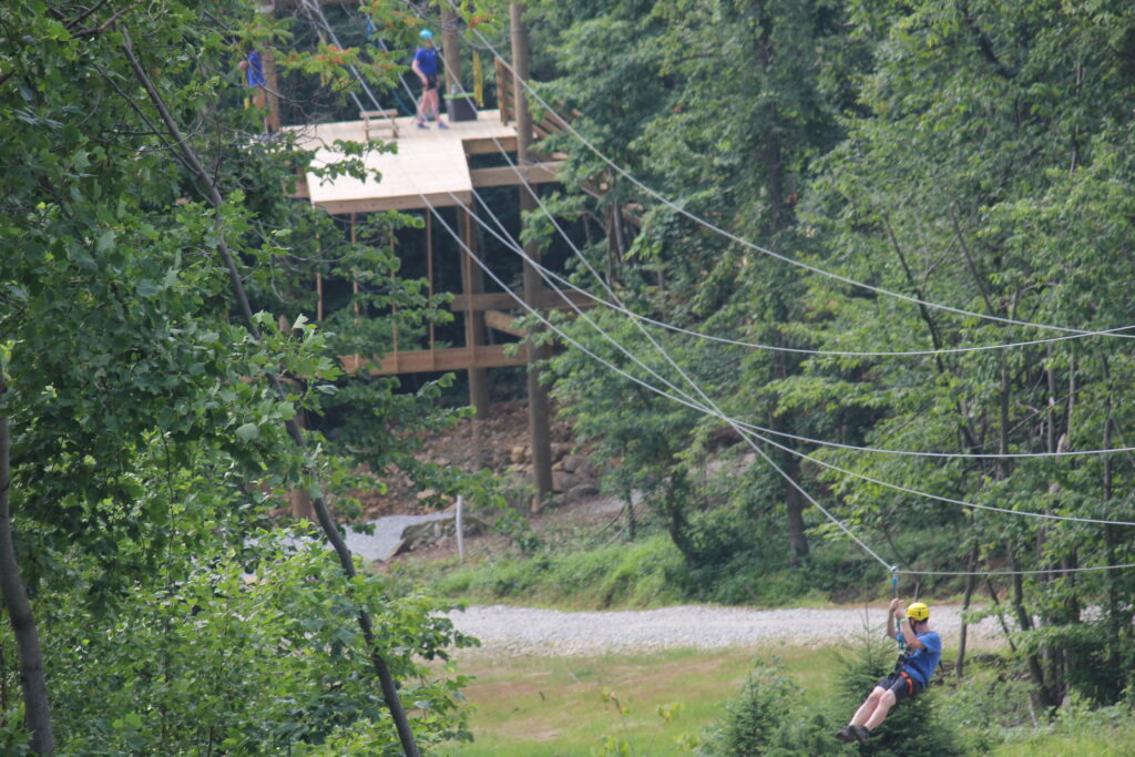 Roundtop Mountain Dual Zip Lines