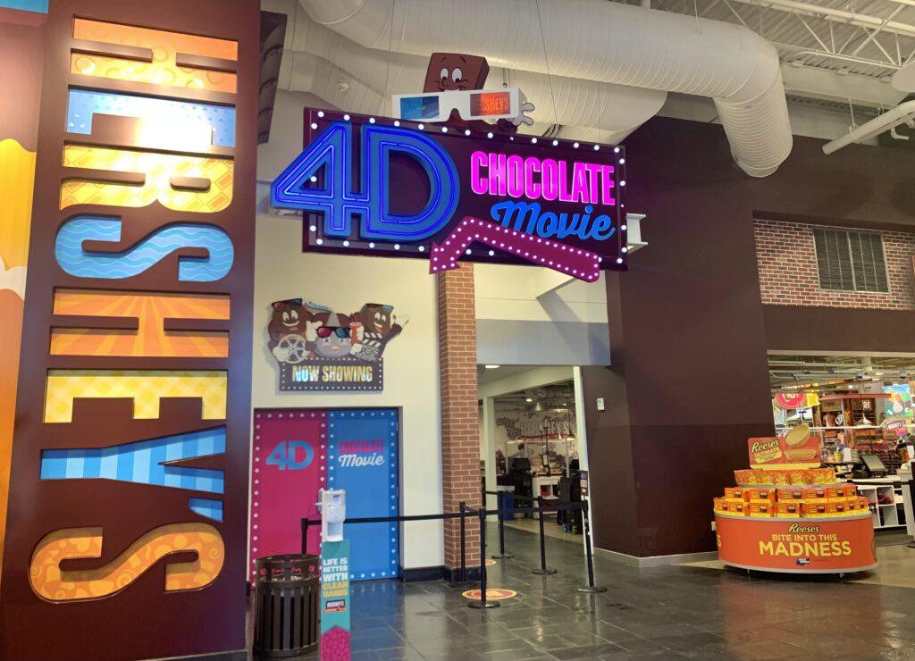4D Chocolate Movie