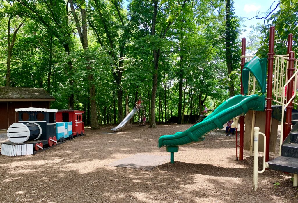 Indian Echo Caverns Playground
