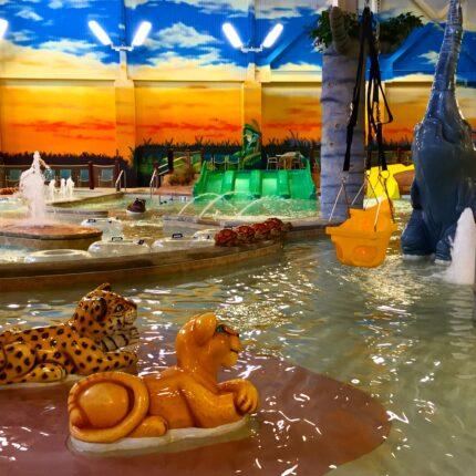 Indoor water park in PA
