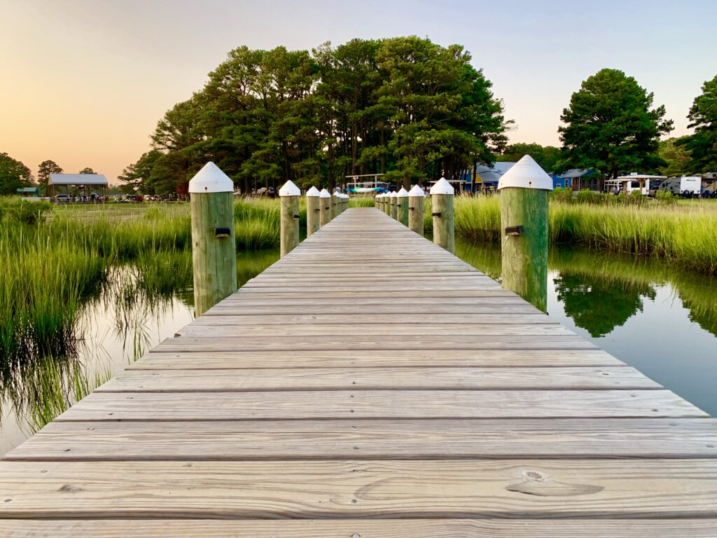 Chincoteague Island KOA Dock