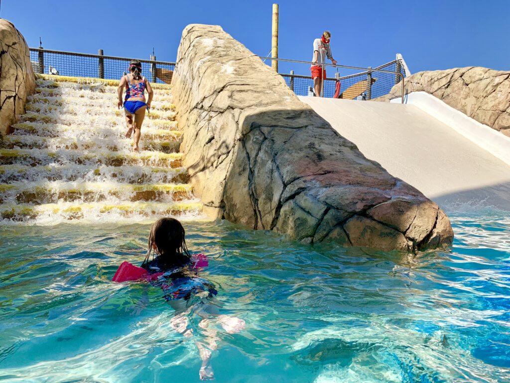 Ocean Oasis Waterfall Steps