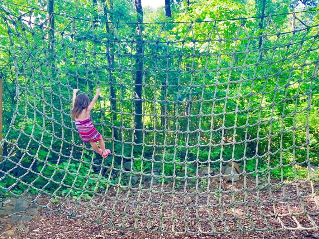 Roundtop Mountain Climbing Net