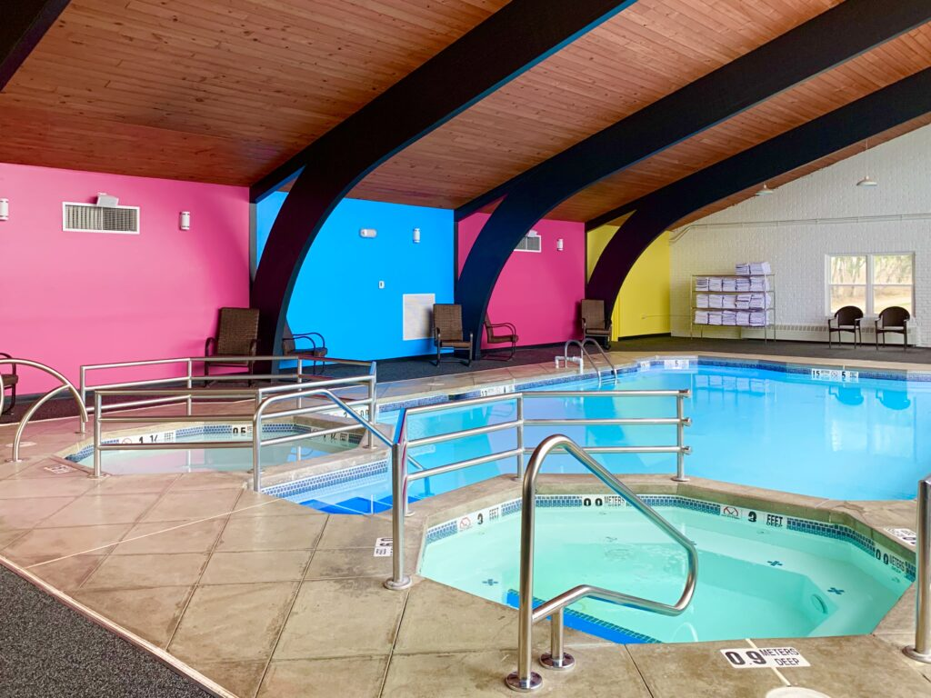 Cartoon Network Hotel Indoor Pool
