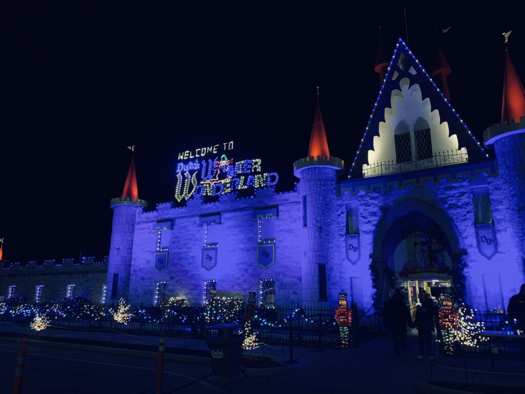 Dutch Winter Wonderland Castle