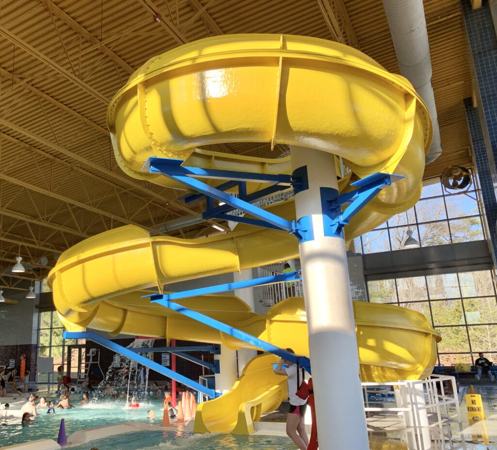 Large Water Slide in Maryland