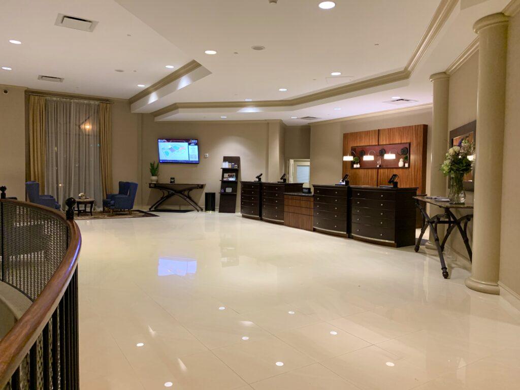 Lancaster DoubleTree Resort Lobby