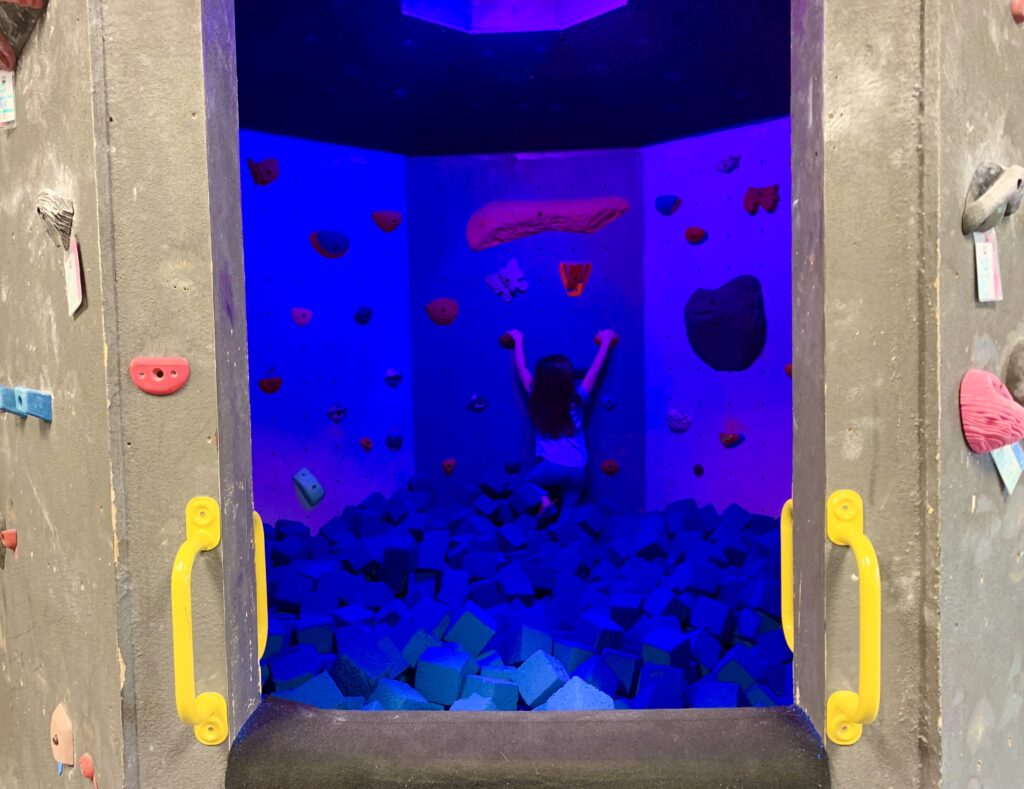 The Cave Foam Pit