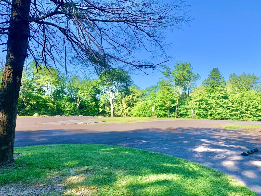 Lake Rose Parking Lot