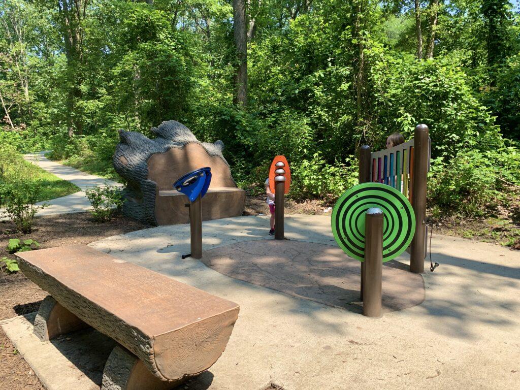 Chessie's Big Backyard Trail Musical Instruments