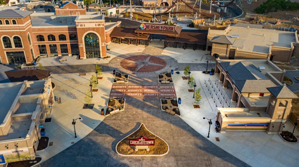 Hersheypark Chocolatetown Entrance