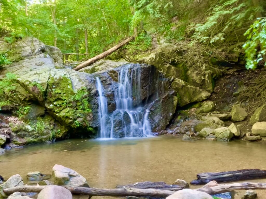 Cascade Falls at Patapsco Valley State Park